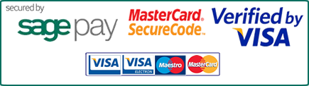 Maestro, MasterCard SecureCode,  Verified by Visa & SagePay Online Shopping Page images uploaded 29.10.15