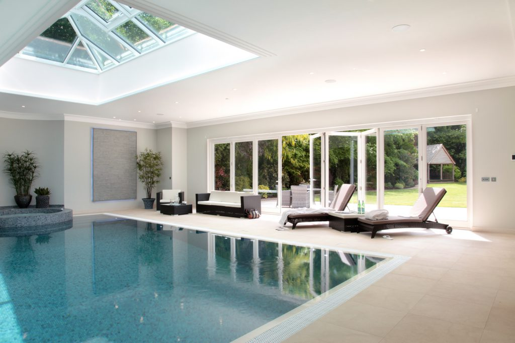 Bespoke Bifold Doors (Swimming Pool) by Todd Doors