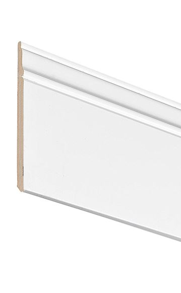 Picture of WHITE TRADITIONAL SKIRTING