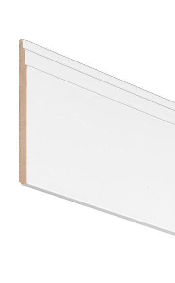 Picture of WHITE STEPPED SKIRTING