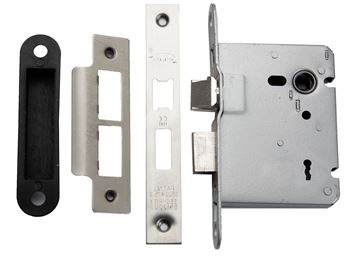Picture of ESSENTIALS LATCH & KEY LOCK - SASHLOCK76ESS