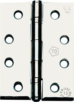 "Picture of 4"" POLISHED STAINLESS STEEL HINGES - PSSH4-2"