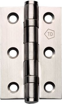 "Picture of 3"" SATIN STAINLESS STEEL HINGES - SSSH3"