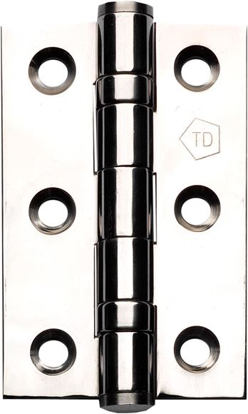 "Picture of 3"" POLISHED STEEL HINGES - PSSH3"