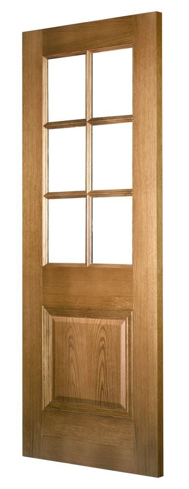 Kensington 6 Light Oak Door Internal Doors Charles Todd