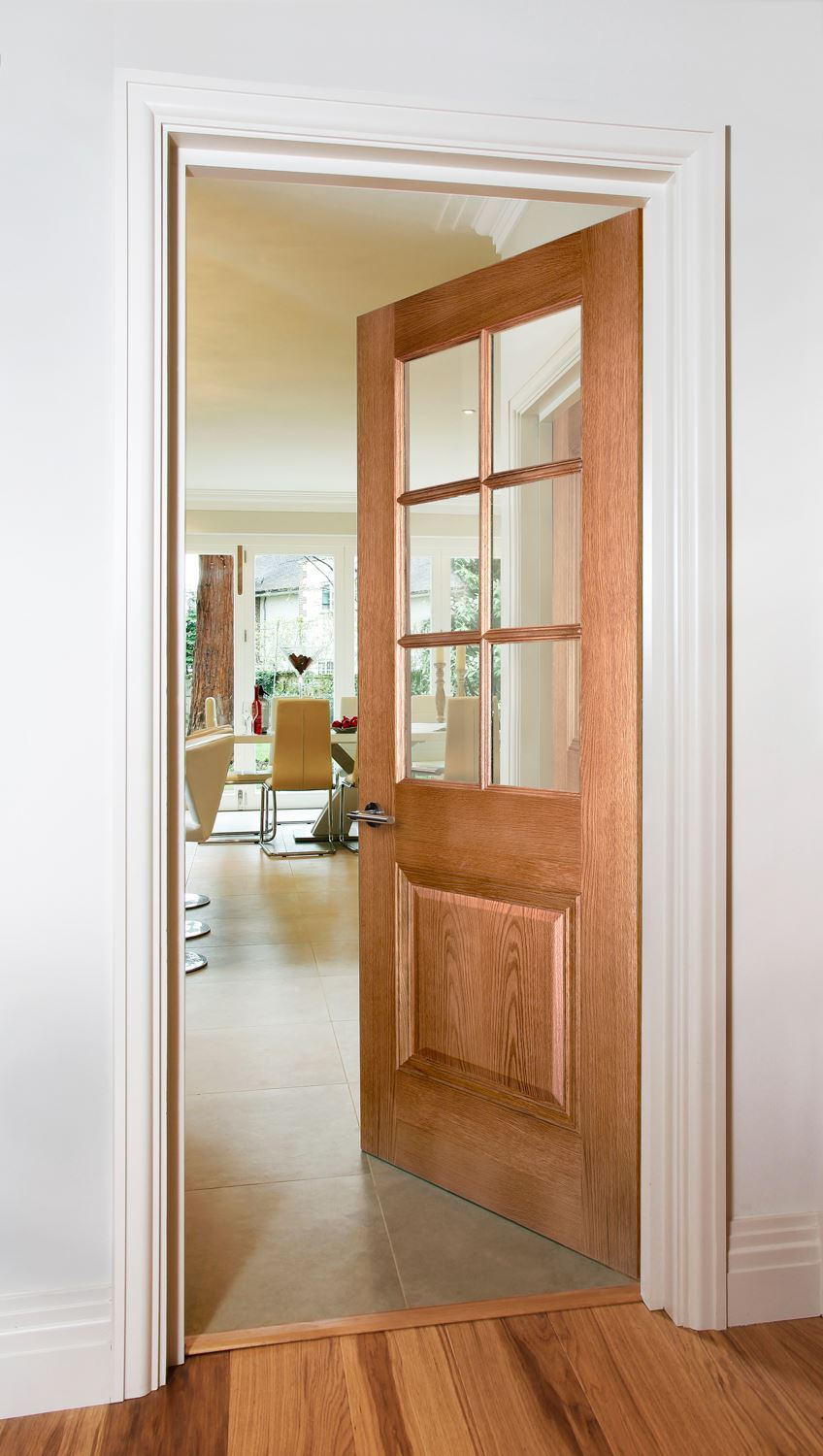 ... Picture of KENSINGTON 6-LIGHT OAK & Kensington 6-Light Oak Door | Internal Doors | Charles Todd