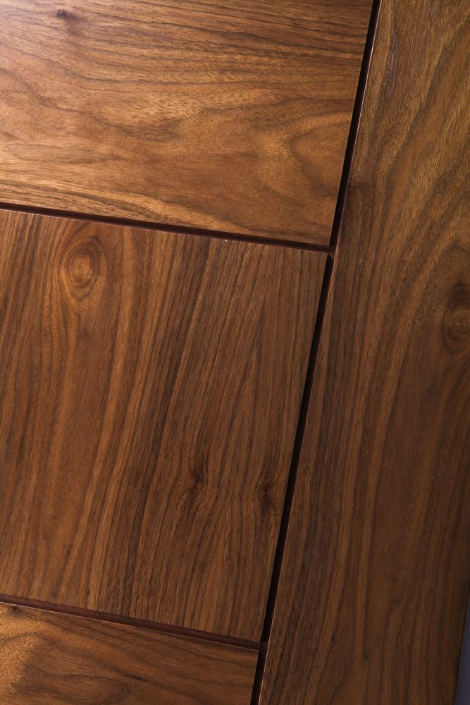 Catalunya Walnut Bespoke Door Internal Doors Todd Doors