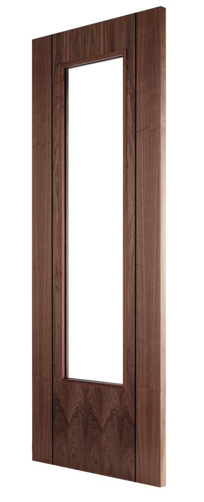 Ara Walnut 1 Light Bespoke Door Internal Doors Charles Doors