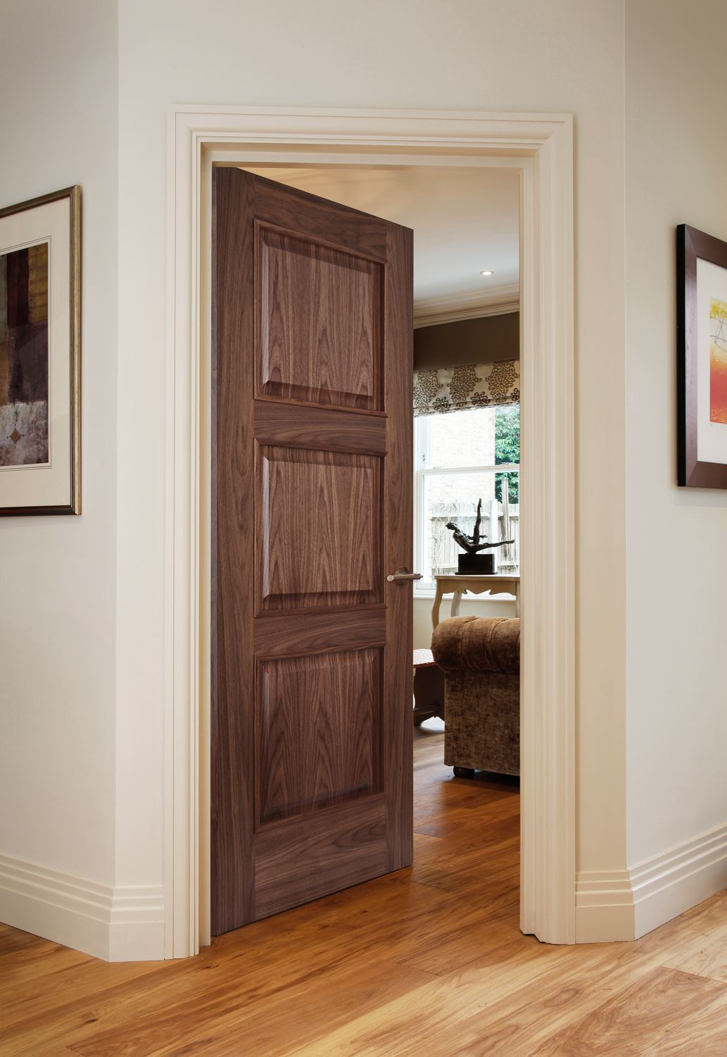 Almeria Walnut Bespoke Door Internal Doors Charles Todd