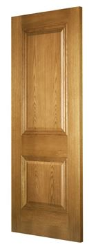 Picture of KENSINGTON 2-PANEL OAK FIRE DOOR (FD30 - BESPOKE)