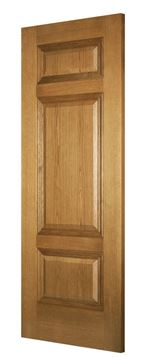Picture of BALMORAL 3-PANEL OAK (BESPOKE)