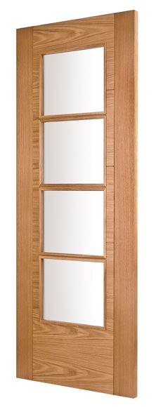 Picture of ISEO K4514 OAK 4-LIGHT (FROSTED GLASS)