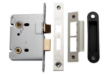 Picture of ESSENTIALS LATCH & BATH LOCK - BATHLOCK76ESS