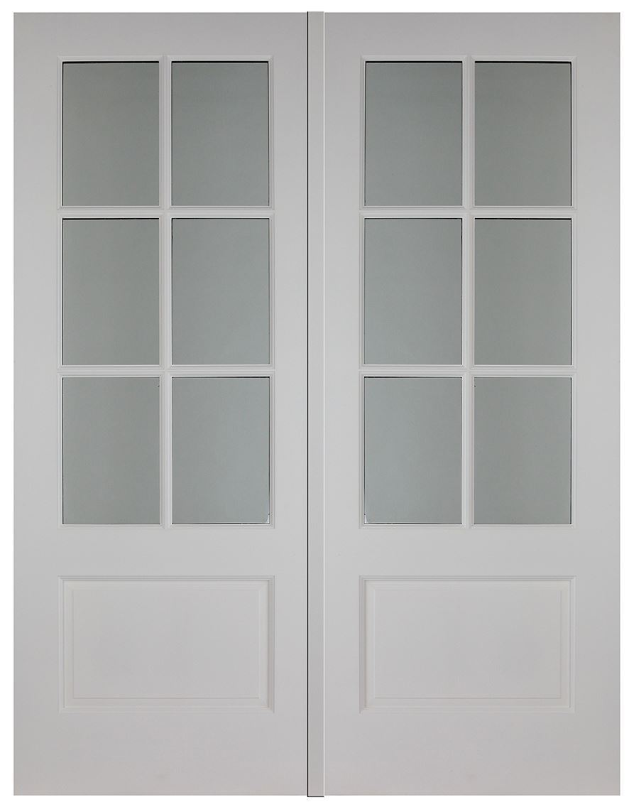 Esher hardwood pair external hardwood doors brand new for Hardwood french doors