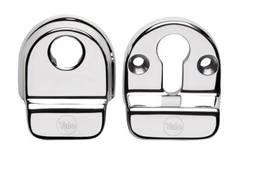 Picture of YALE TRADITIONAL HIGH SECURITY ESCUTCHEON SET