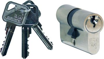 Picture of EURO PROFILE CYINDER MP10 (KEY & KEY)