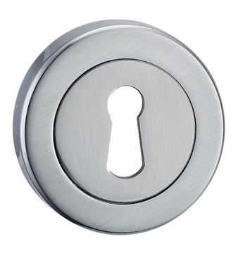 Picture of ESSENTIALS - SATIN CHROME ESCUTCHEON