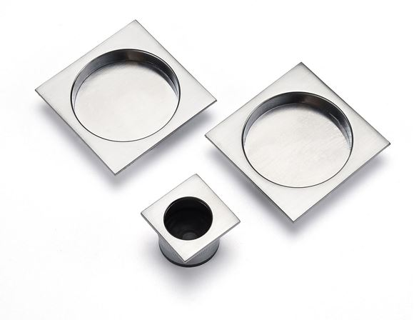 Picture of SQUARE  SLIDING DOOR PULL SET
