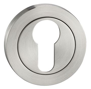 Picture of SATIN STAINLESS STEEL EURO ESCUTCHEON