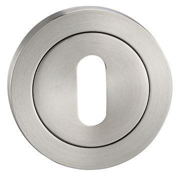 Picture of SATIN STAINLESS STEEL ESCUTCHEON