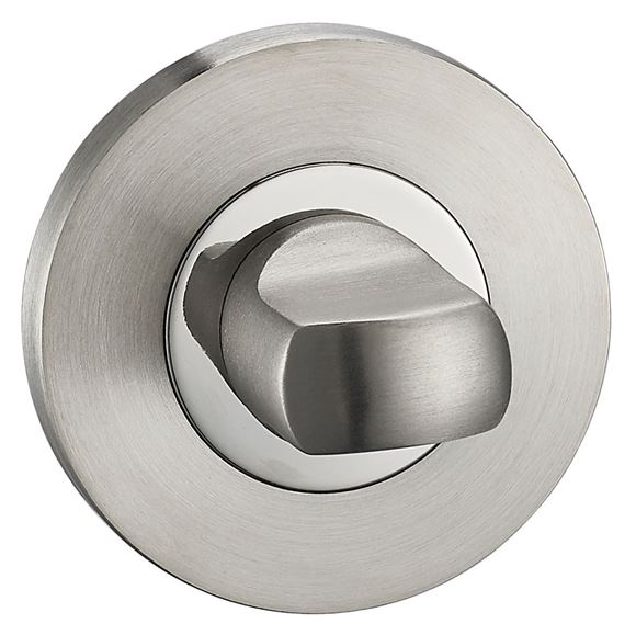 Picture of POLISHED & SATIN STAINLESS STEEL BATH TURN