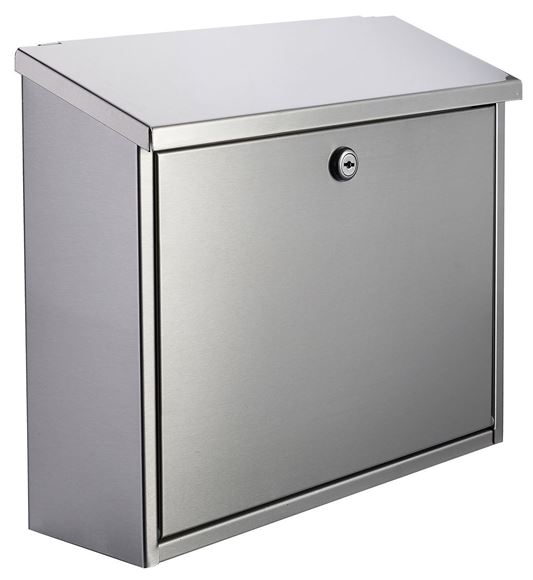 Picture of WALL MOUNTED LETTER BOX - STAINLESS STEEL