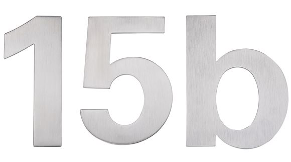 Picture of STAHLWERK - STAINLESS STEEL NUMERALS & LETTERS