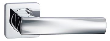 Picture of TUGELA LEVER ON SQUARE ROSE - POLISHED CHROME