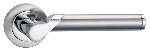 Picture of SIRIUS LEVER ON ROSE - POLISHED & SATIN CHROME