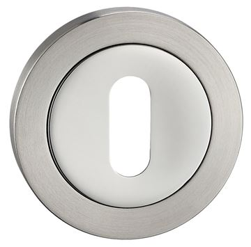 Picture of POLISHED & SATIN STAINLESS STEEL ESCUTCHEON