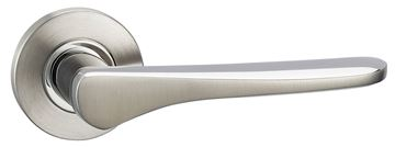 Picture of WESER LEVER ON ROSE - STAINLESS STEEL