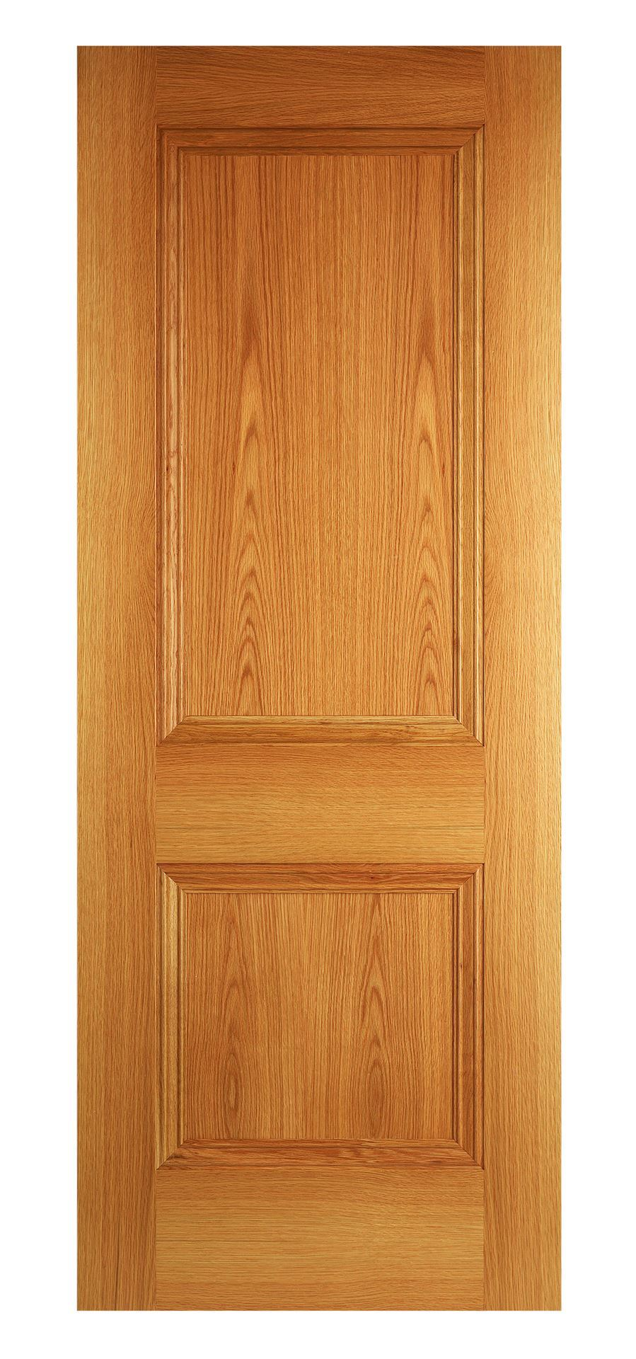 Wentworth 2 Panel Oak Fd30 Bespoke Fire Door Internal