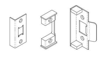 """Picture of 3"""" FIRE RATED TUBULAR LATCH REBATE KIT"""
