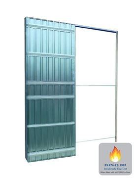 Picture of SCRIGNO SINGLE FIRE RATED POCKET DOOR SYSTEM