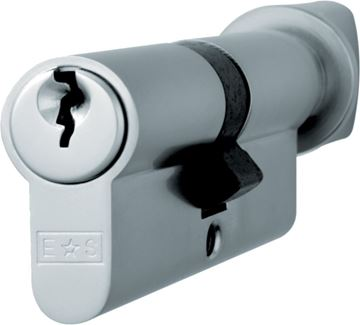 Picture of HIGH SECURITY EURO CYLINDER - GARAGE DOOR HARDWARE