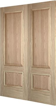 Picture of BOLECTION IRIS OAK (FD30) REBATED PAIR - RHA