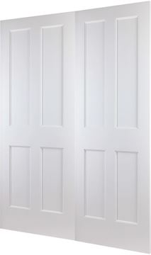 Picture of SHAKER EVO 4-PANEL REBATED PAIR - RHA