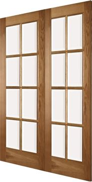 Picture of OAK 8-LIGHT 40mm REBATED PAIR - LHA