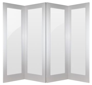 Picture of WHITE INTERNAL BIFOLD DOORS 2.2m (APPROX 7FT)