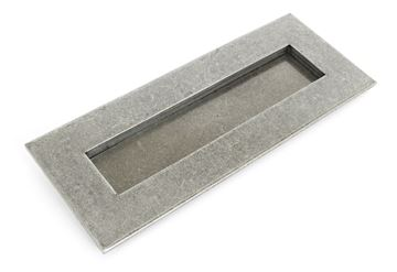 Picture of PEWTER SMALL LETTER PLATE