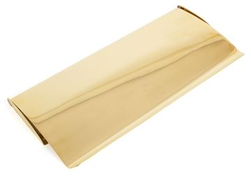 Picture of POLISHED BRASS SMALL LETTER PLATE COVER