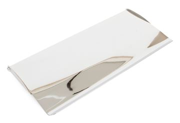 Picture of POLISHED CHROME SMALL LETTER PLATE COVER