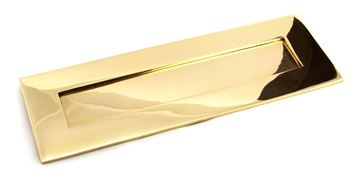 Picture of POLISHED BRASS LARGE LETTER PLATE