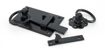 Picture of BLACK COTTAGE LATCH - LH