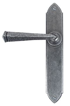 Picture of PEWTER GOTHIC LEVER LATCH SET