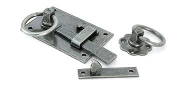 Picture of PEWTER COTTAGE LATCH - LH