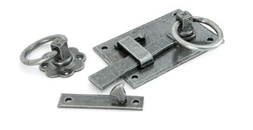 Picture of PEWTER COTTAGE LATCH - RH