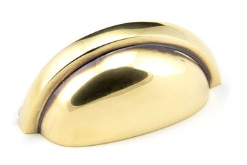 Picture of AGED BRASS REGENCY CONCEALED DRAWER PULL