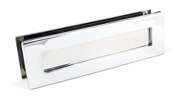 Picture of POLISHED CHROME TRADITIONAL LETTERBOX