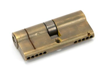 Picture of AGED BRASS 35/35 5PIN EURO CYLINDER